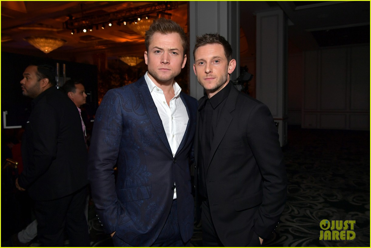 taron egerton jamie bell hollywood foreign press banquet 204329418