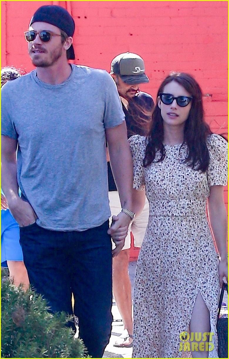Emma Roberts & Garrett Hedlund Have an Afternoon Movie ...