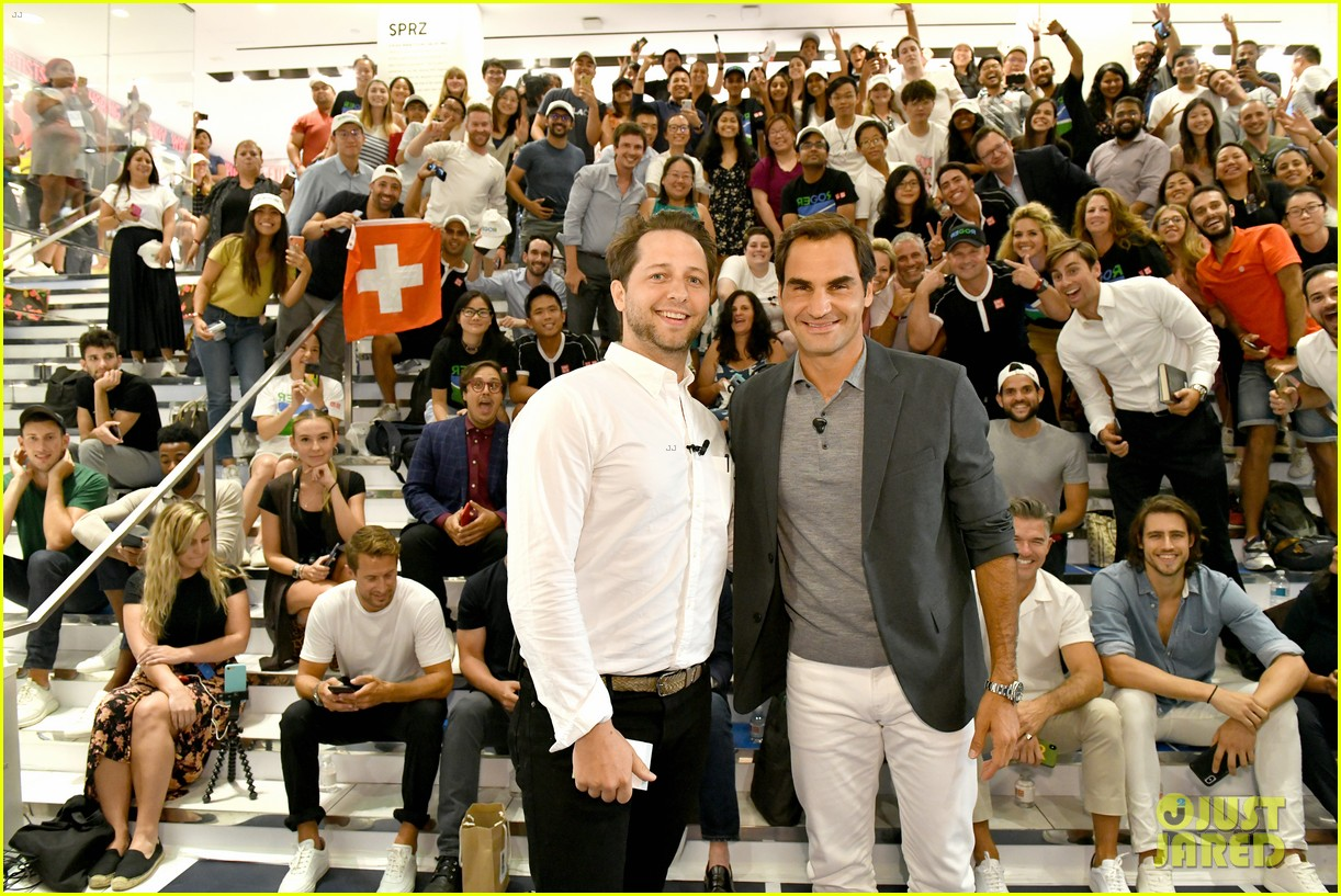roger federer launches new uniqlo lifewear collection 044337929