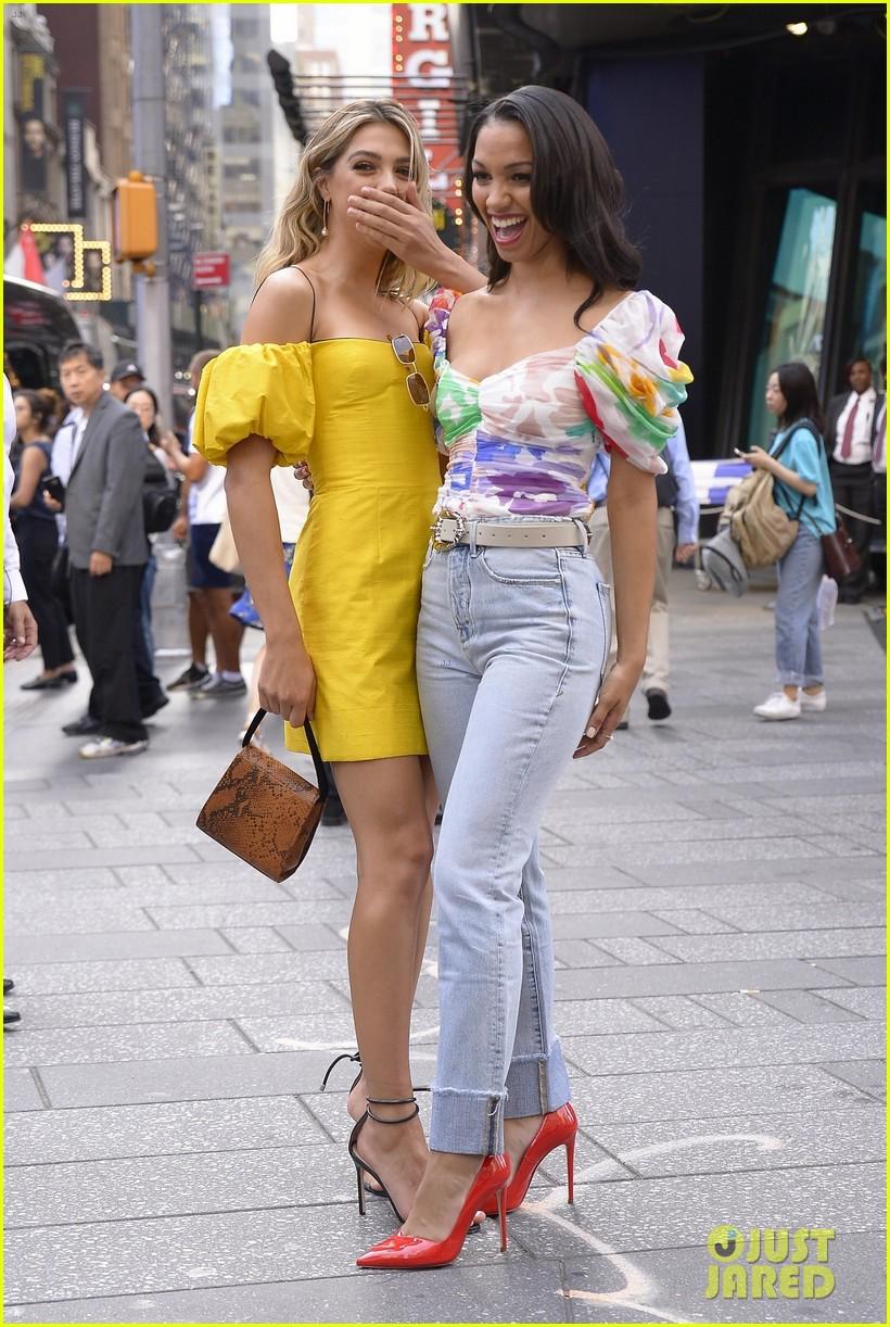 Corinne Foxx & Sistine Stallone Team Up On 'GMA' for '47