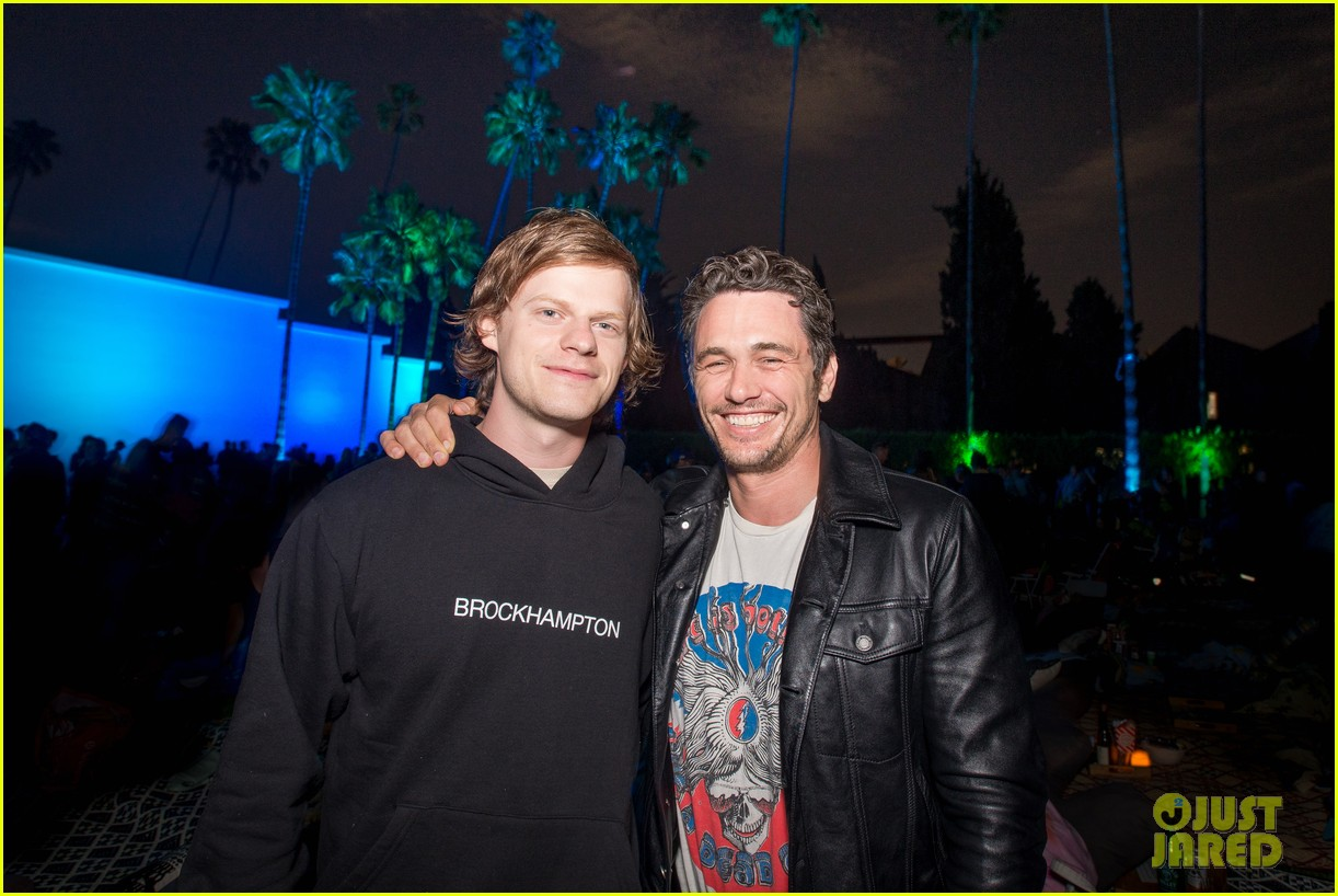 james franco lucas hedges buddy up at point break screening 024331155