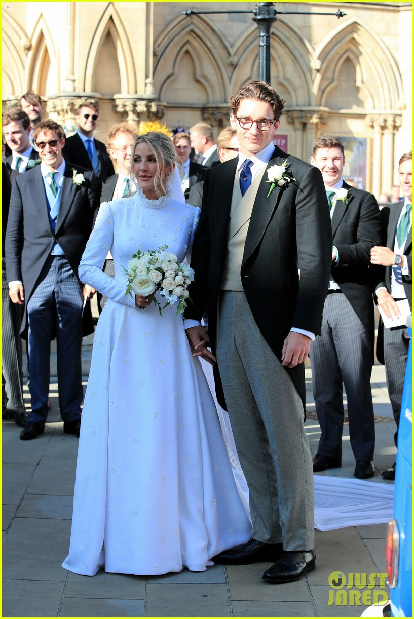 Ellie Goulding Exited Her Wedding Ceremony In The Cutest Way