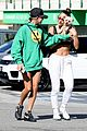 hailey bieber shows off her fit physique at the gym 03