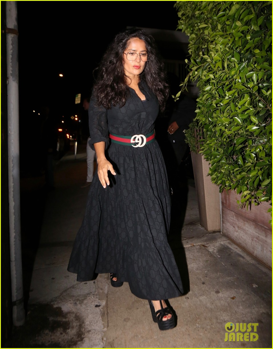 salma hayek francois henri pinault step out for date night in santa monica 014337209