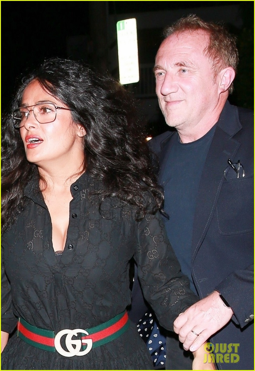 salma hayek francois henri pinault step out for date night in santa monica 024337210