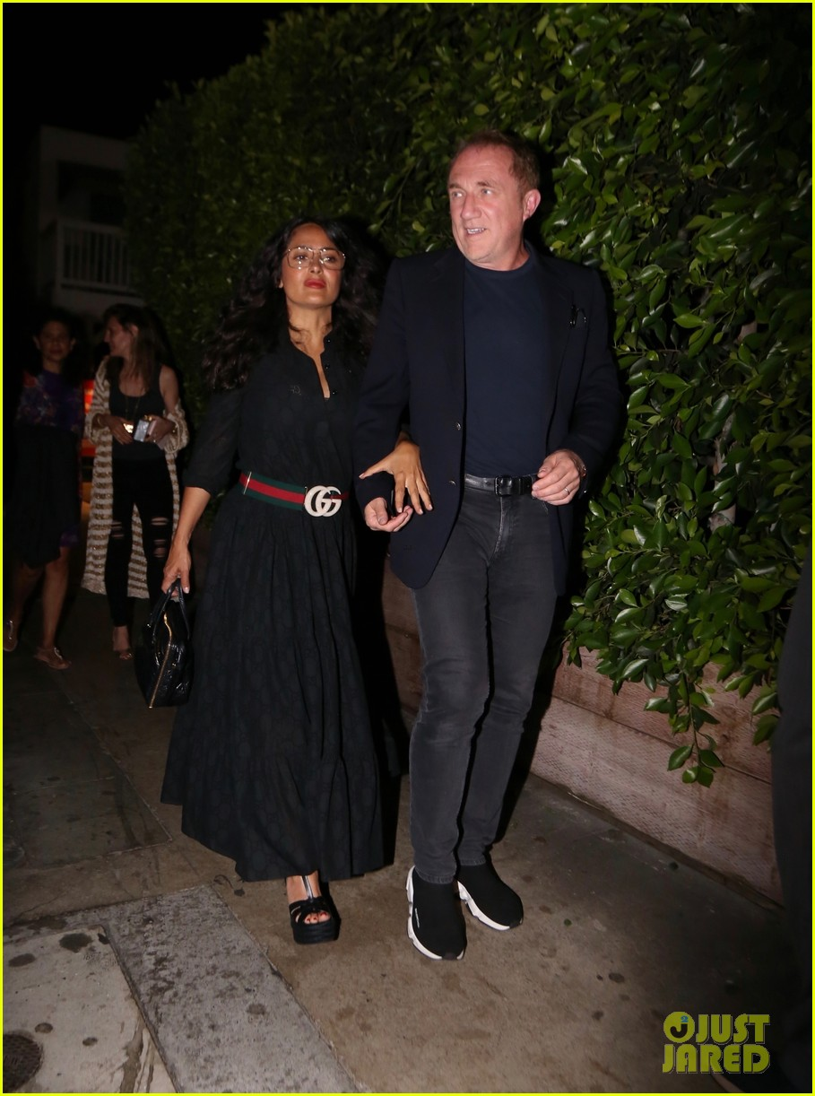 salma hayek francois henri pinault step out for date night in santa monica 034337211