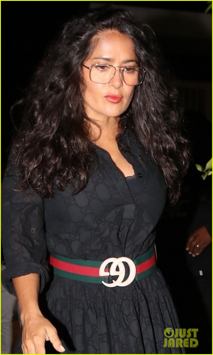 salma hayek francois henri pinault step out for date night in santa monica 044337212