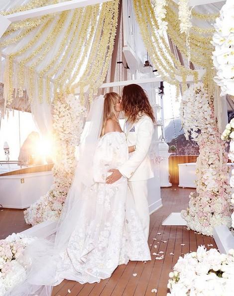 Heidi Klum is secretly married to rocker Tom Kaulitz