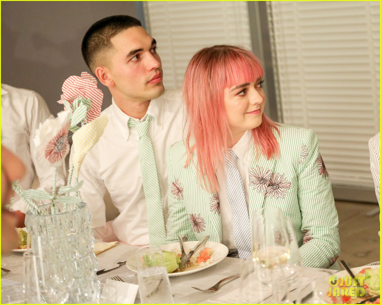 maisie williams natalia dyer charlie heaton attend thom browne dinner 174339848