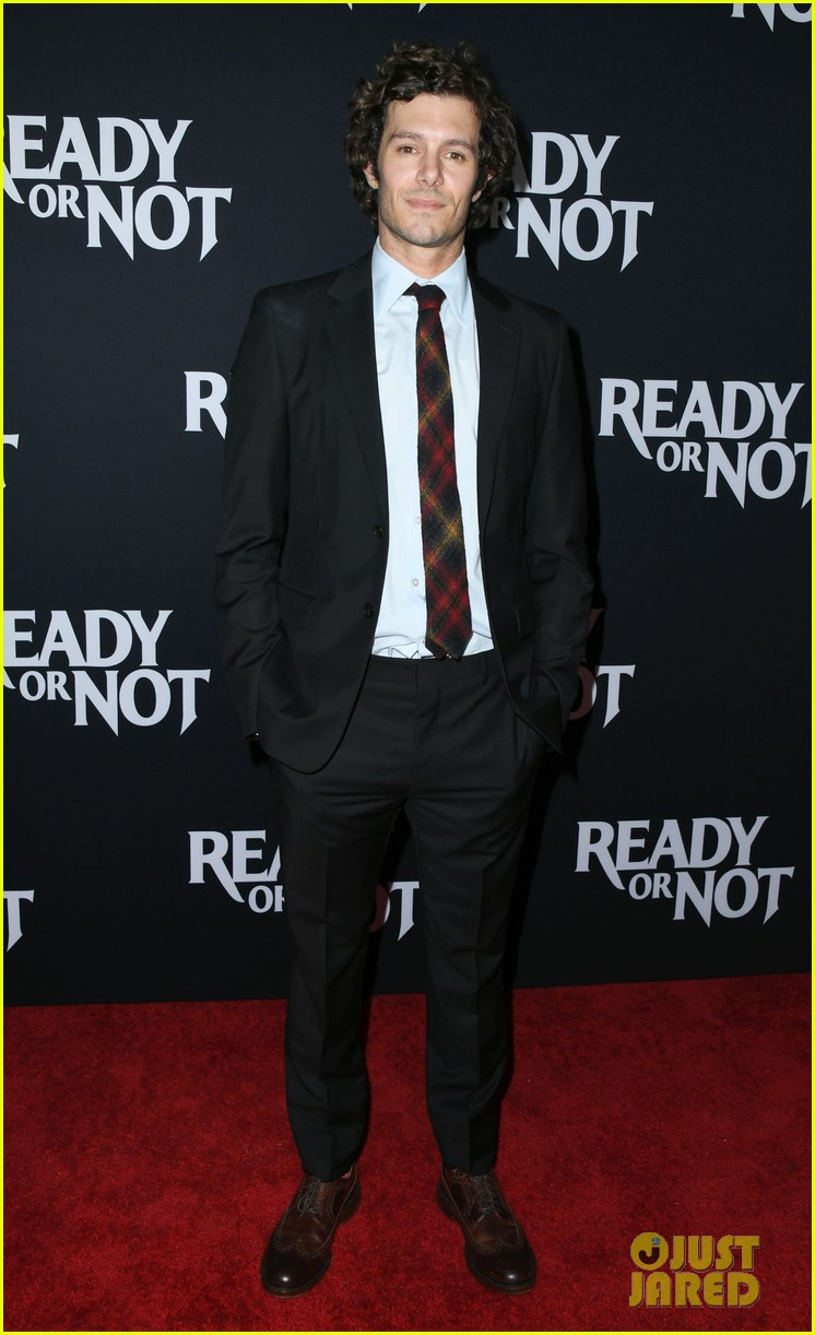 leighton meester supports adam brody at ready or not premiere 024337463