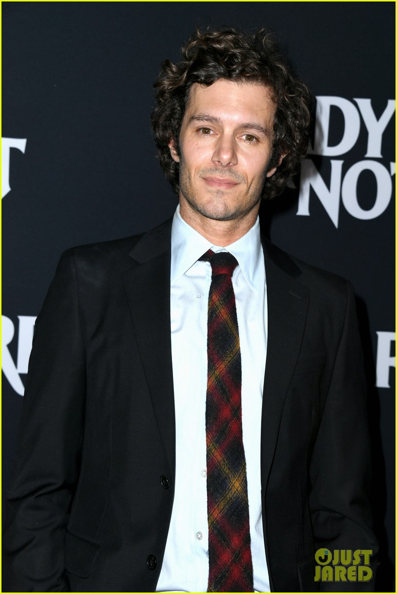 leighton meester supports adam brody at ready or not premiere 064337467