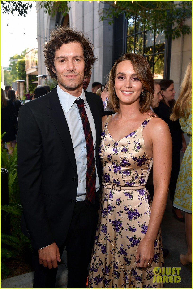 leighton meester supports adam brody at ready or not premiere 074337468
