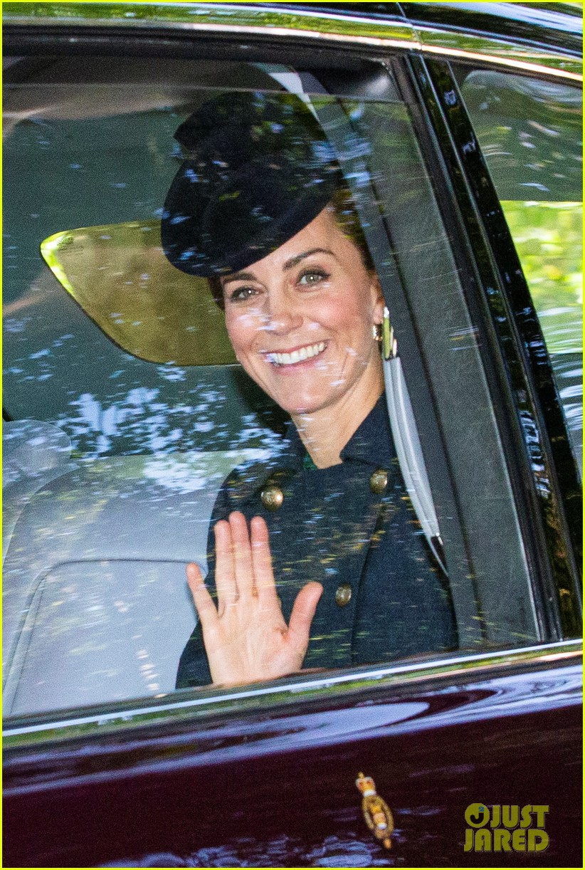queen elizabeth kate middleton church august 2019 07