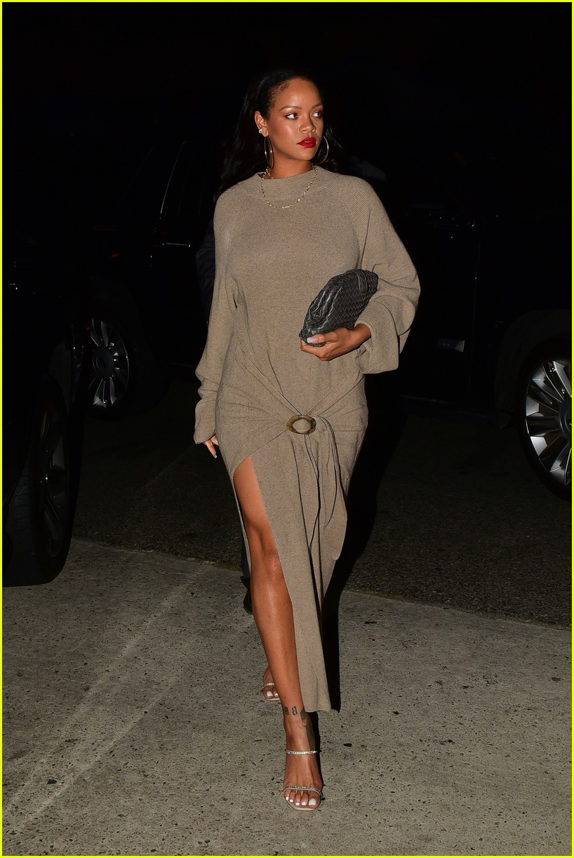 rihanna meets up with her mom for dinner 044335900