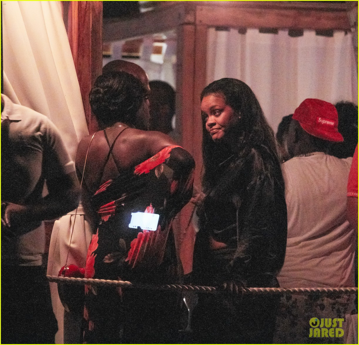 rihanna parties with friends in barbados 054330829