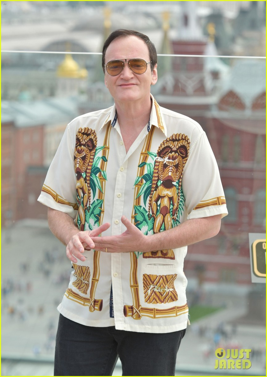 quentin tarantino presents once upon a time in hollywood in moscow 034332286