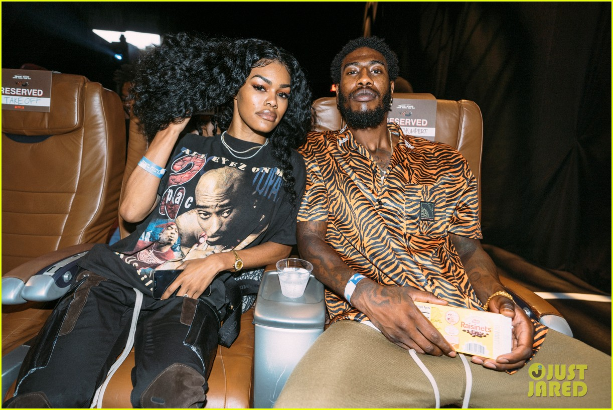 teyana taylor iman shumpert support travis scott at look mom i can fly premiere 014341603
