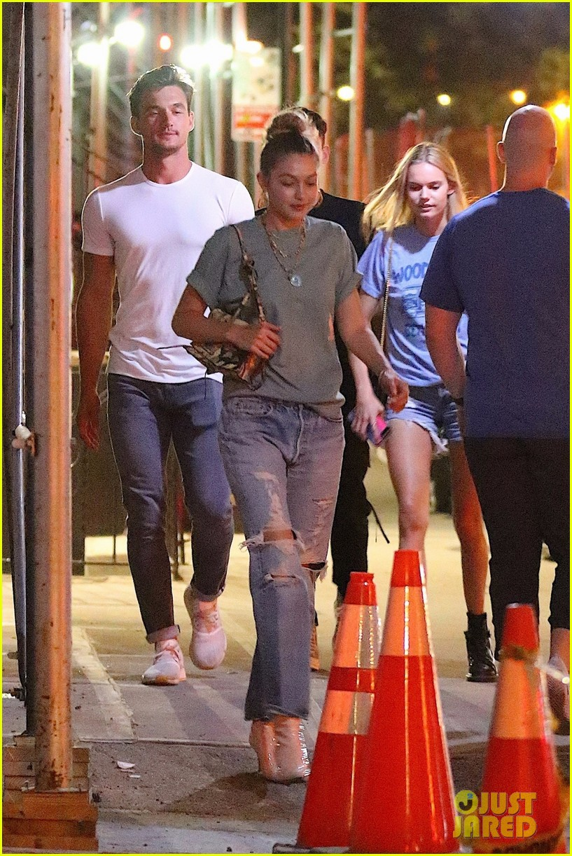 gigi hadid enjoys a night out with tyler cameron in nyc 05