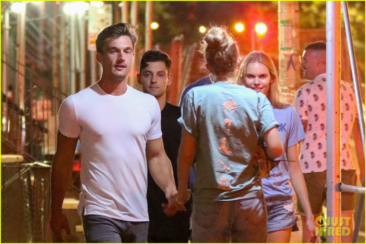 gigi hadid enjoys a night out with tyler cameron in nyc 07