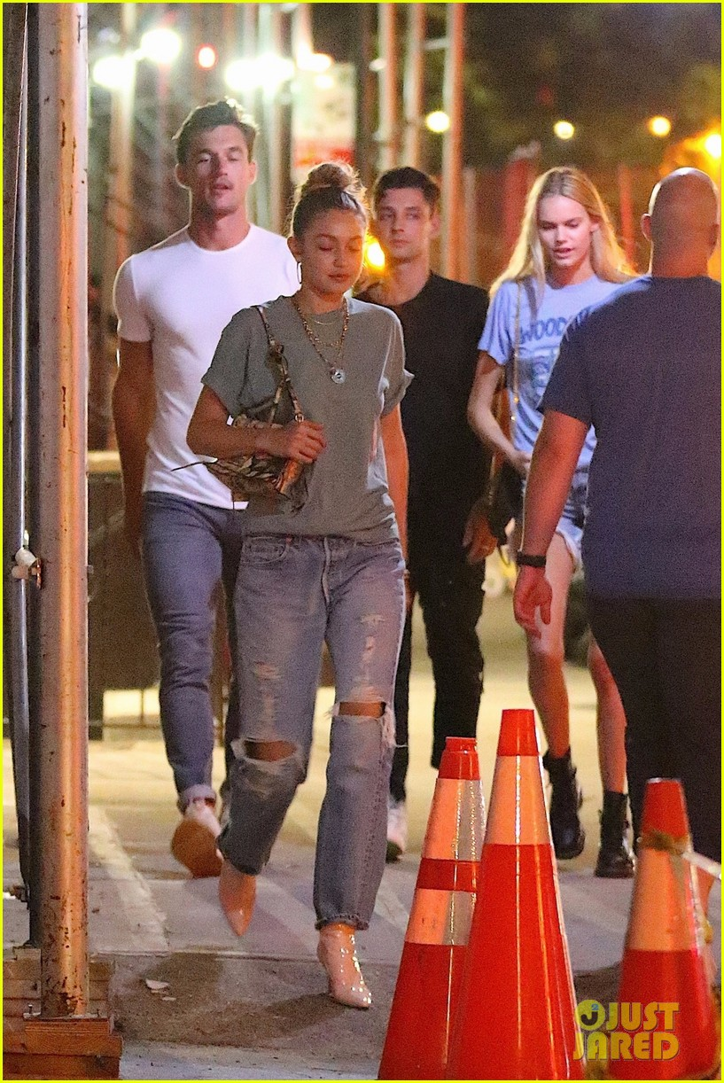 gigi hadid enjoys a night out with tyler cameron in nyc 09