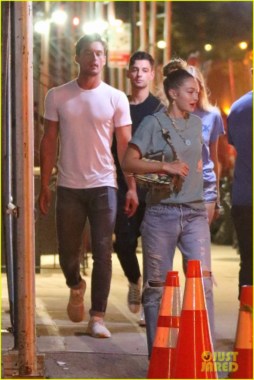 gigi hadid enjoys a night out with tyler cameron in nyc 15