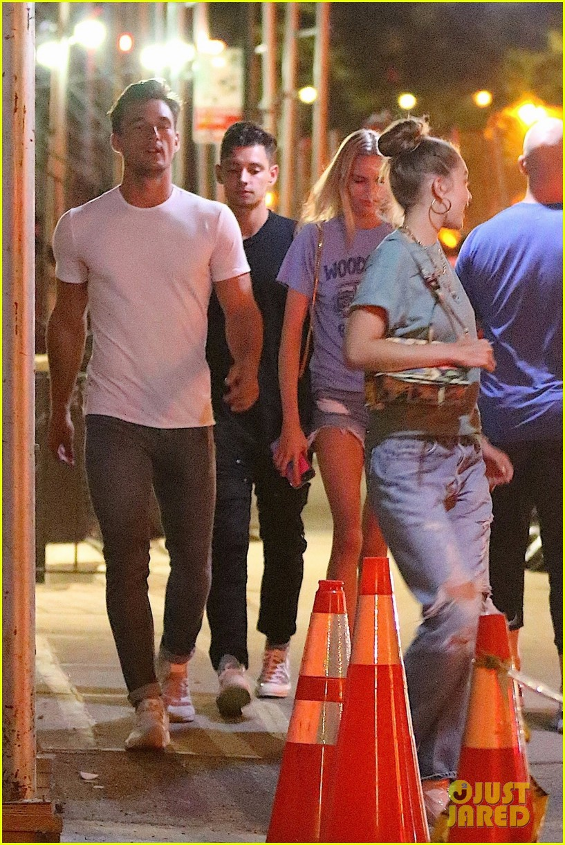 gigi hadid enjoys a night out with tyler cameron in nyc 17