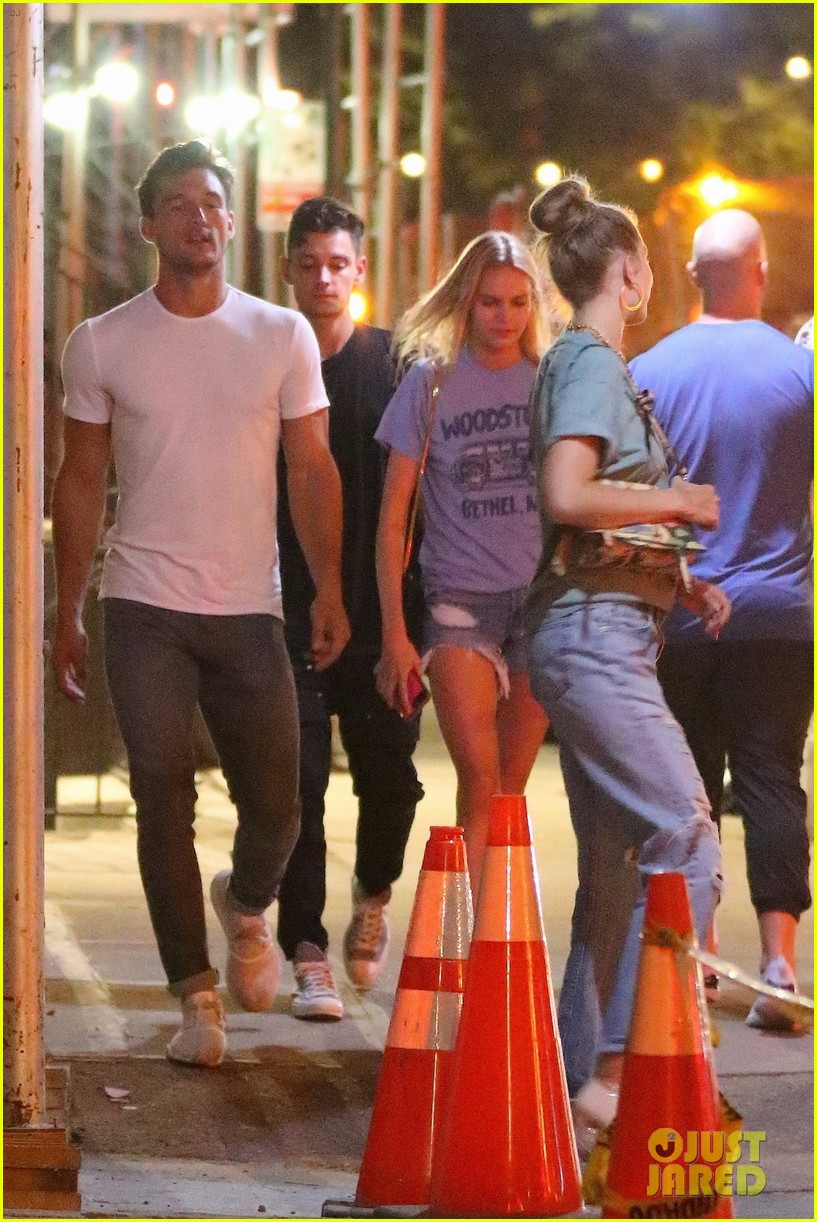gigi hadid enjoys a night out with tyler cameron in nyc 18