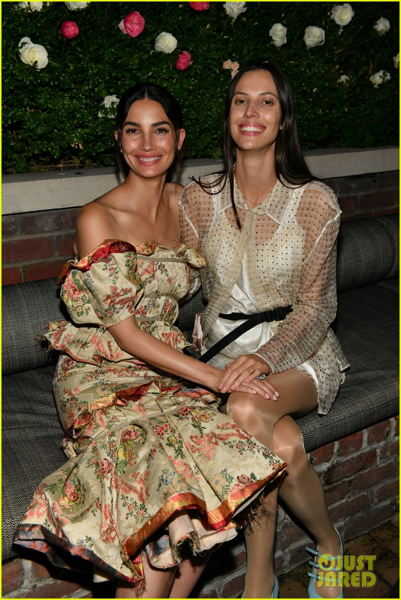 lily aldridge supported model friends perfume nyfw event 074348806