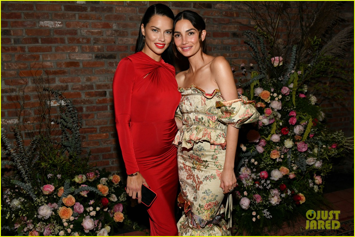 lily aldridge supported model friends perfume nyfw event 114348810