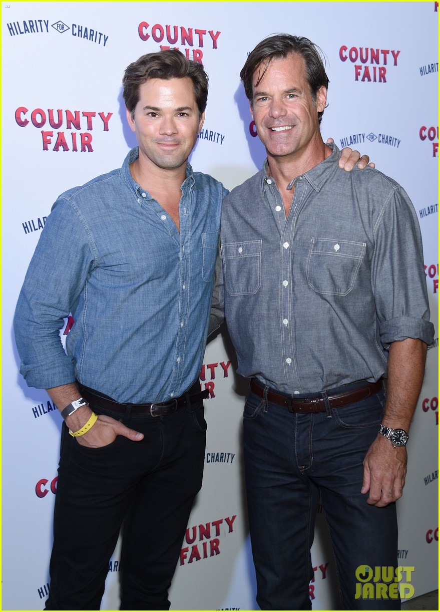 Andrew Rannells Amp Tuc Watkins New Couple Alert Photo