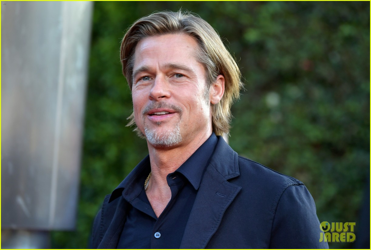 brad pitt ruth negga step out for ad astra premeire 204355121