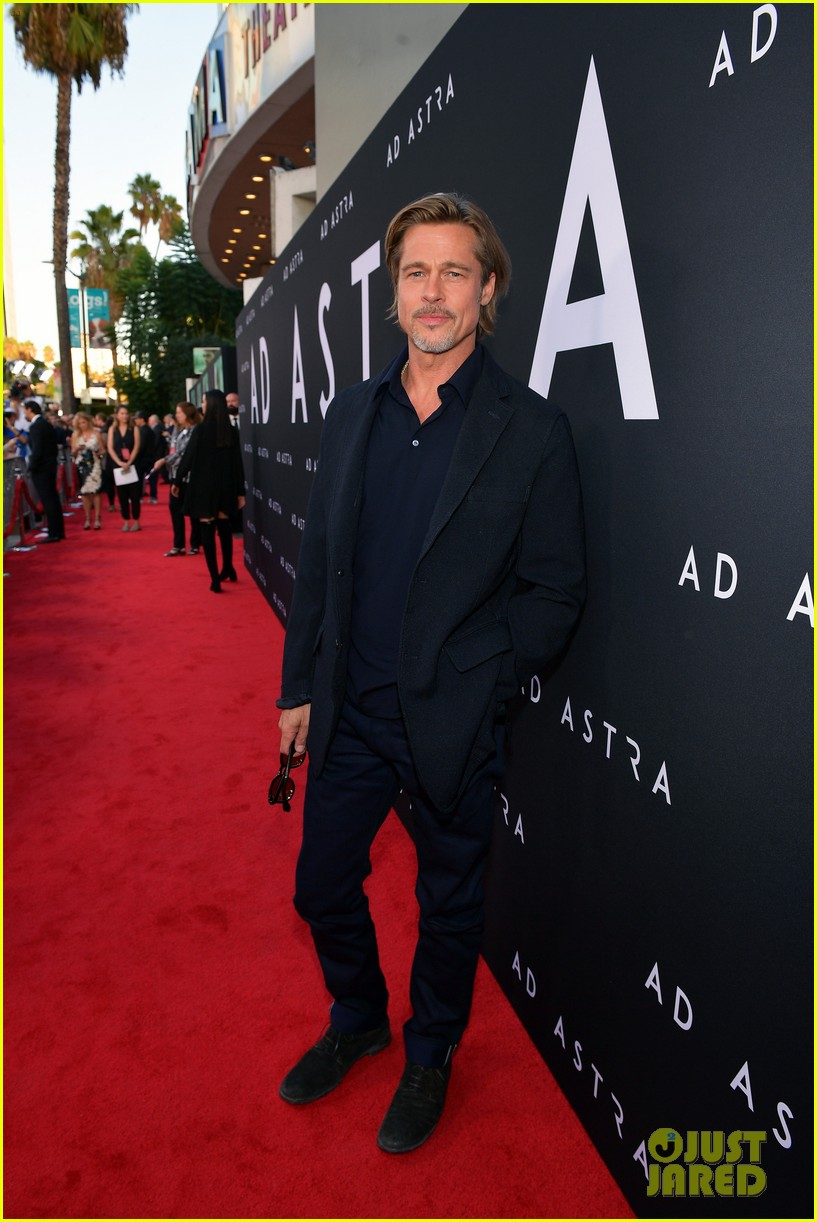 brad pitt ruth negga step out for ad astra premeire 244355125