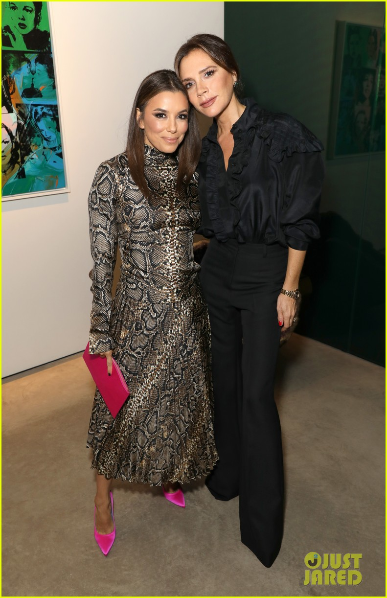 david beckham supports wife victoria sothebys celebration andy warhol 034363032