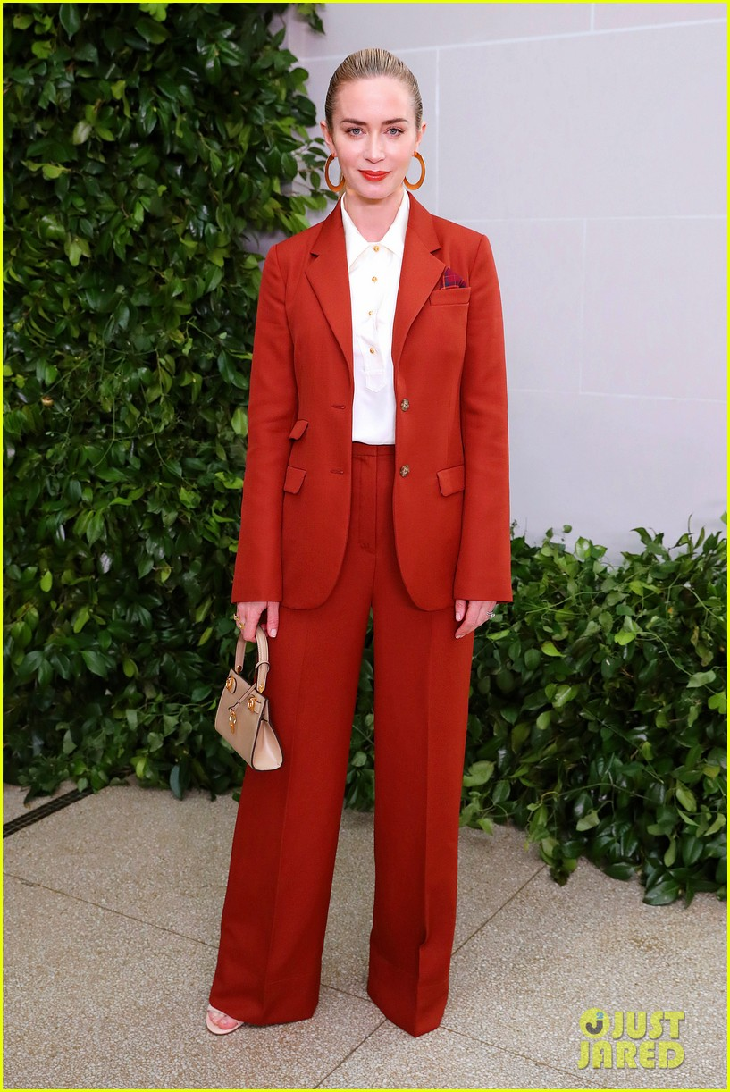 emily blunt others tory burch nyfw show 114348328