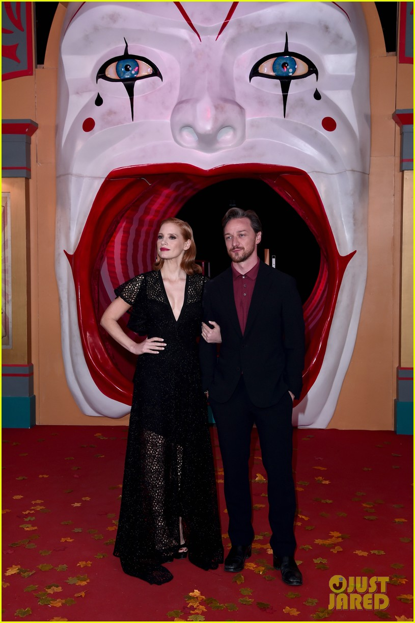jessica chastain james mcavoy diane kruger it chapter two premiere 224344107