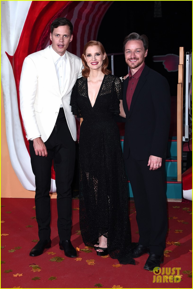jessica chastain james mcavoy diane kruger it chapter two premiere 304344115