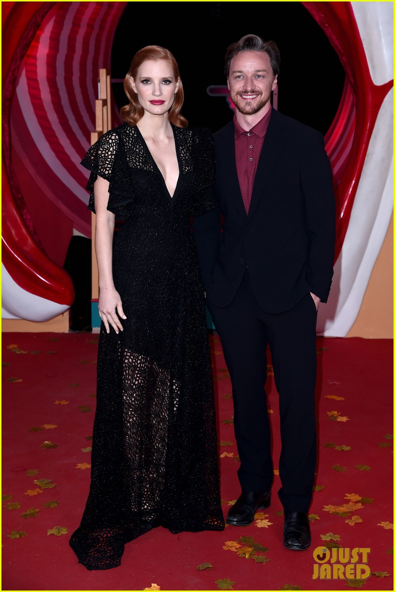 jessica chastain james mcavoy diane kruger it chapter two premiere 344344119