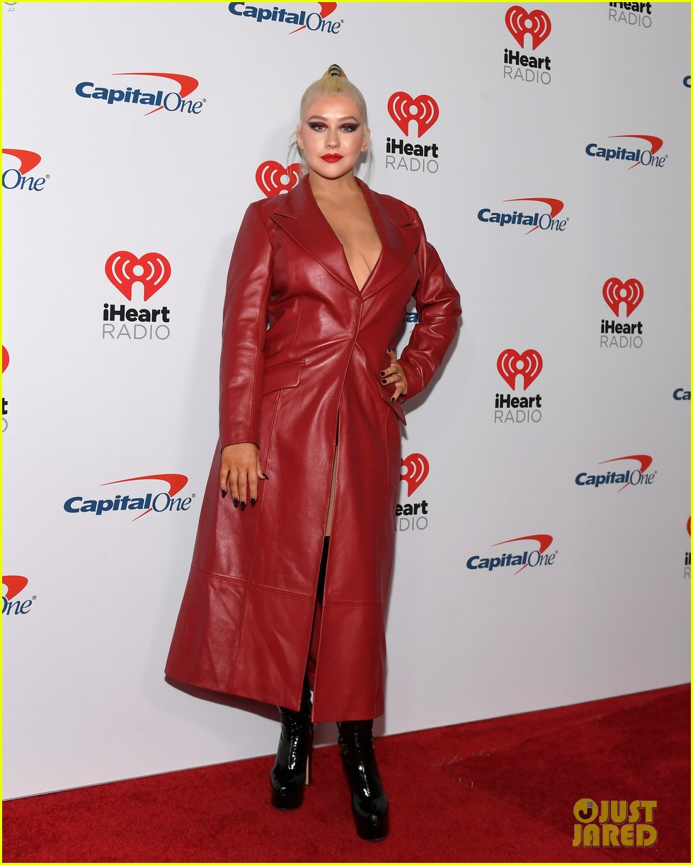 christina aguilera steps out for iheartradio festival 014356435