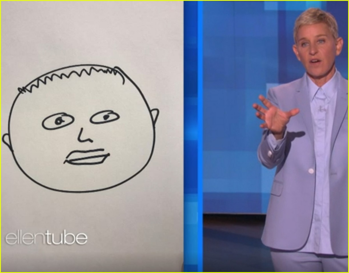 ellen degeneres draws photos of baby archie 024348914