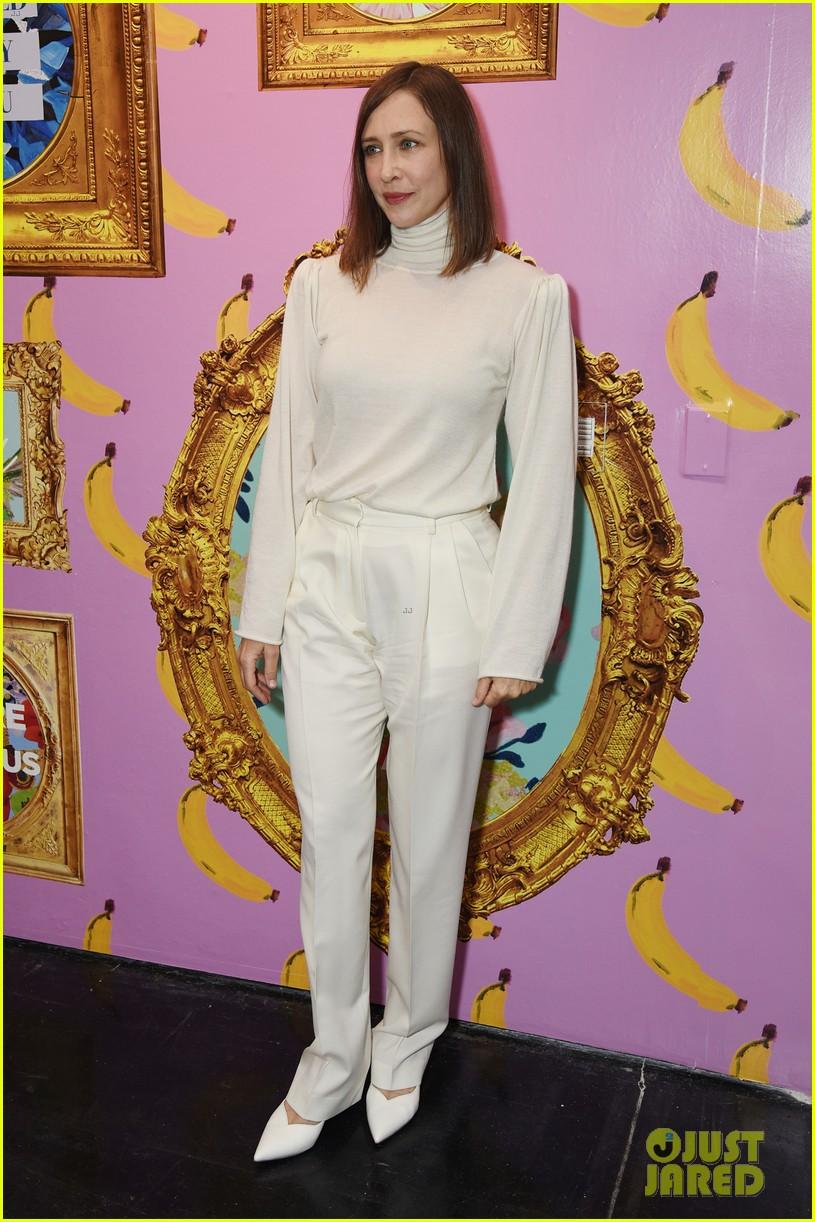 vera farmiga wears all white for ryan roches nyfw show husband renn hawkey 044351244