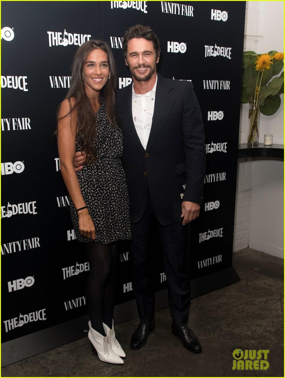 james franco maggie gyllenhaal the deuce premiere 014345711