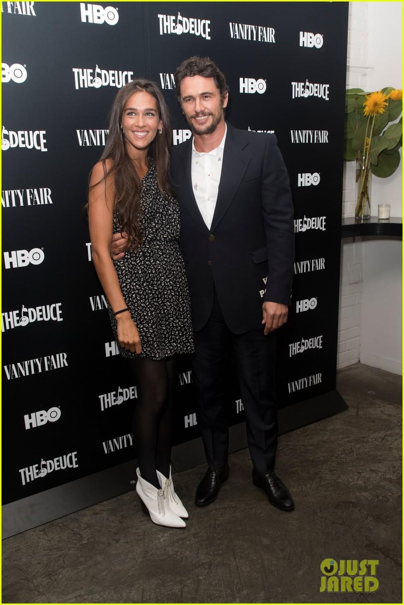 james franco maggie gyllenhaal the deuce premiere 064345716