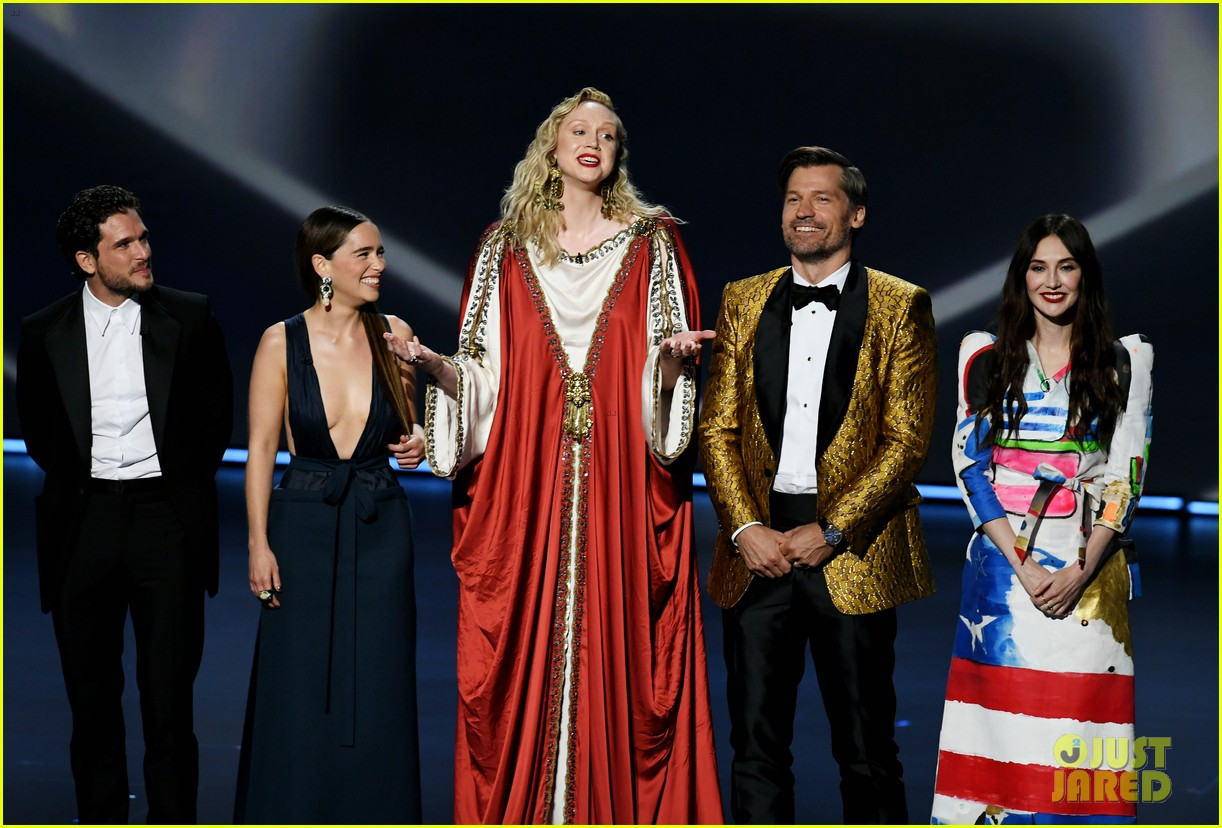 game of thrones cast together at emmys 2019 034358140