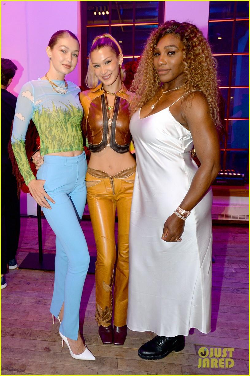 bella gigi hadid youtube fashion event nyfw 014349868