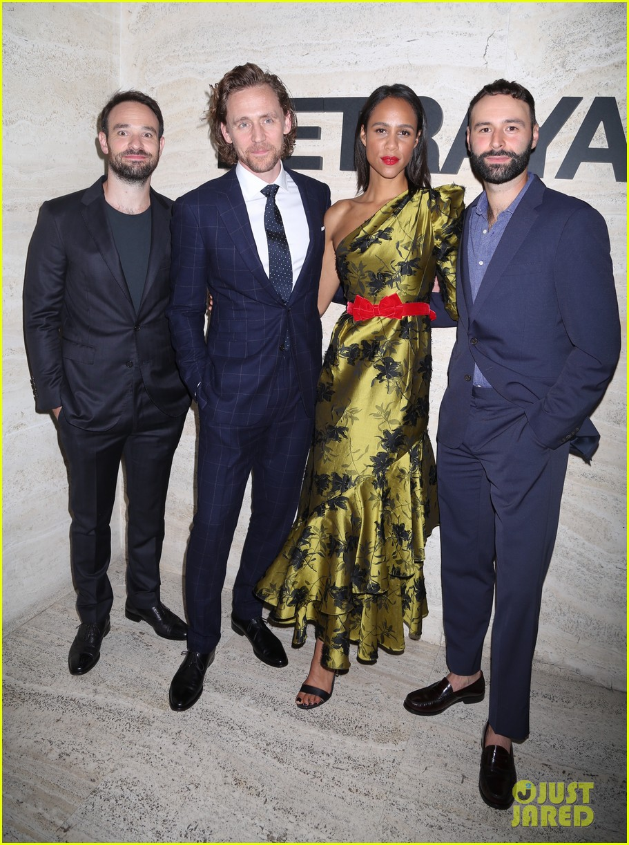 Tom Hiddleston & Charlie Cox Celebrate Broadway Debuts at