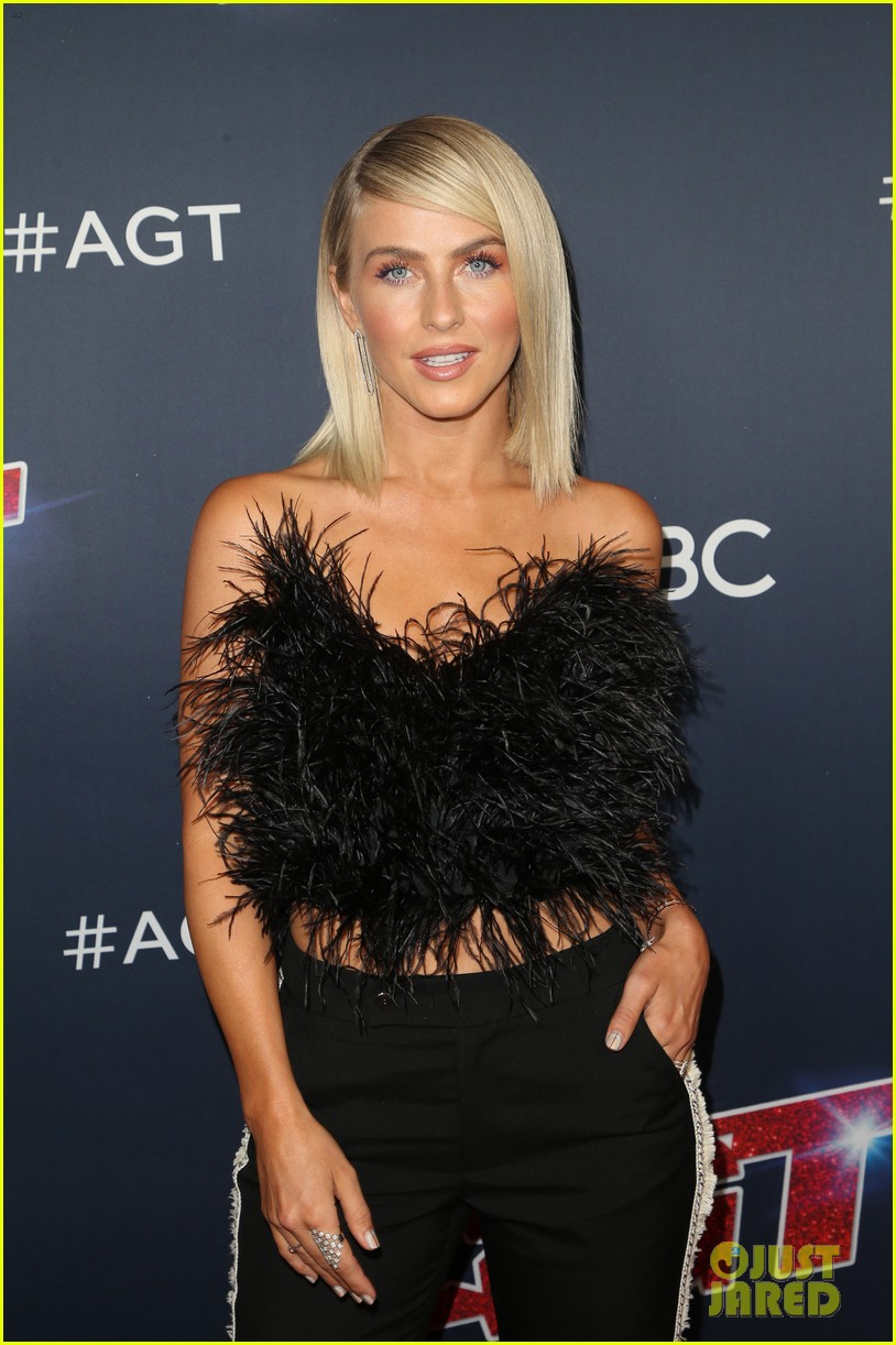 julianne hough joins shirtless acrobats for magic mike performance on agt 02