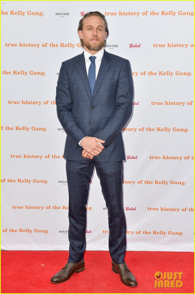 charlie hunnam suits up true history of the kelly gang tiff 024351428