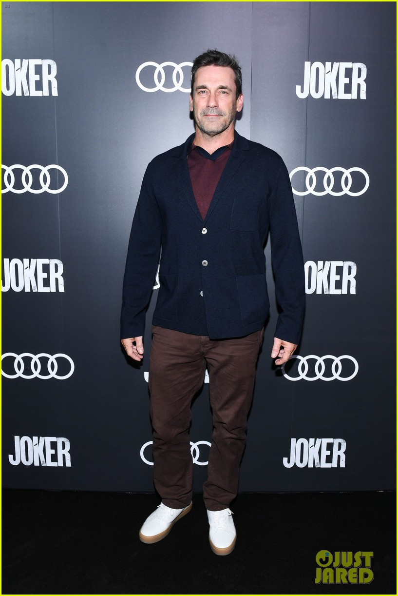 charlie hunnam jon hamm more step out for joker after party during tiff 2019 034349824