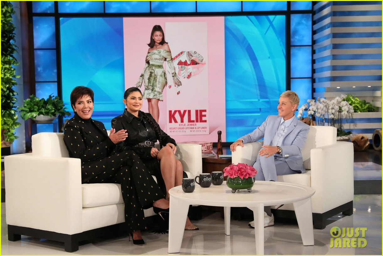 kylie jenner says her sisters tease her about being a billionaire on ellen 034348956