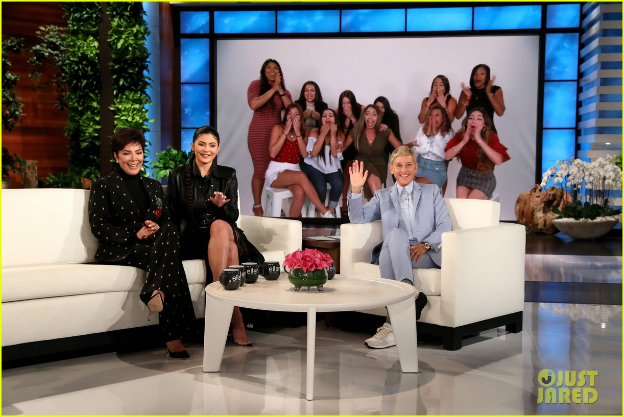 kylie jenner says her sisters tease her about being a billionaire on ellen 044348957